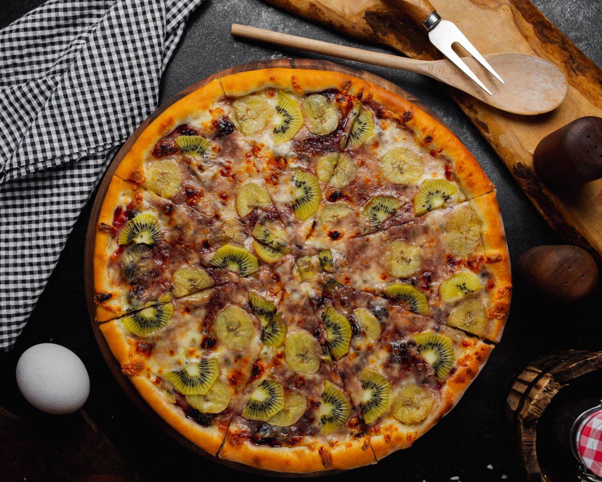 Kiwi-Pizza spaltet das Netz: Neuer Food-Trend?