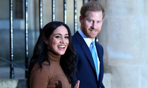 Meghan Markle und Prinz Harry treten als Royals zurück
