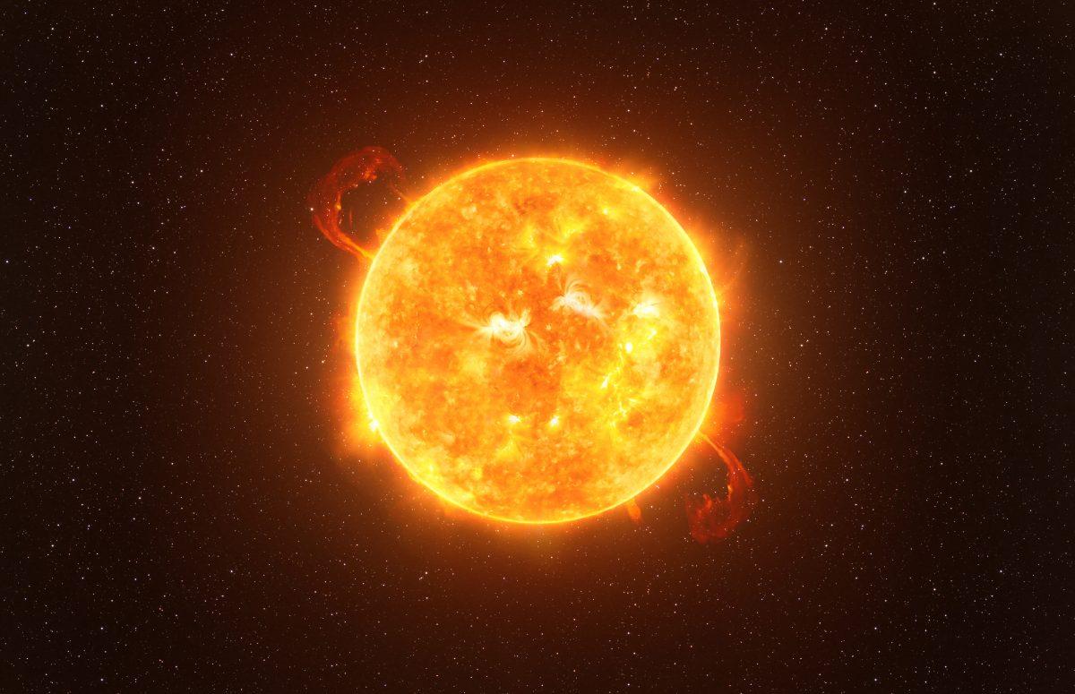 Riesenstern droht zu explodieren: Entsteht ein zweiter Mond?