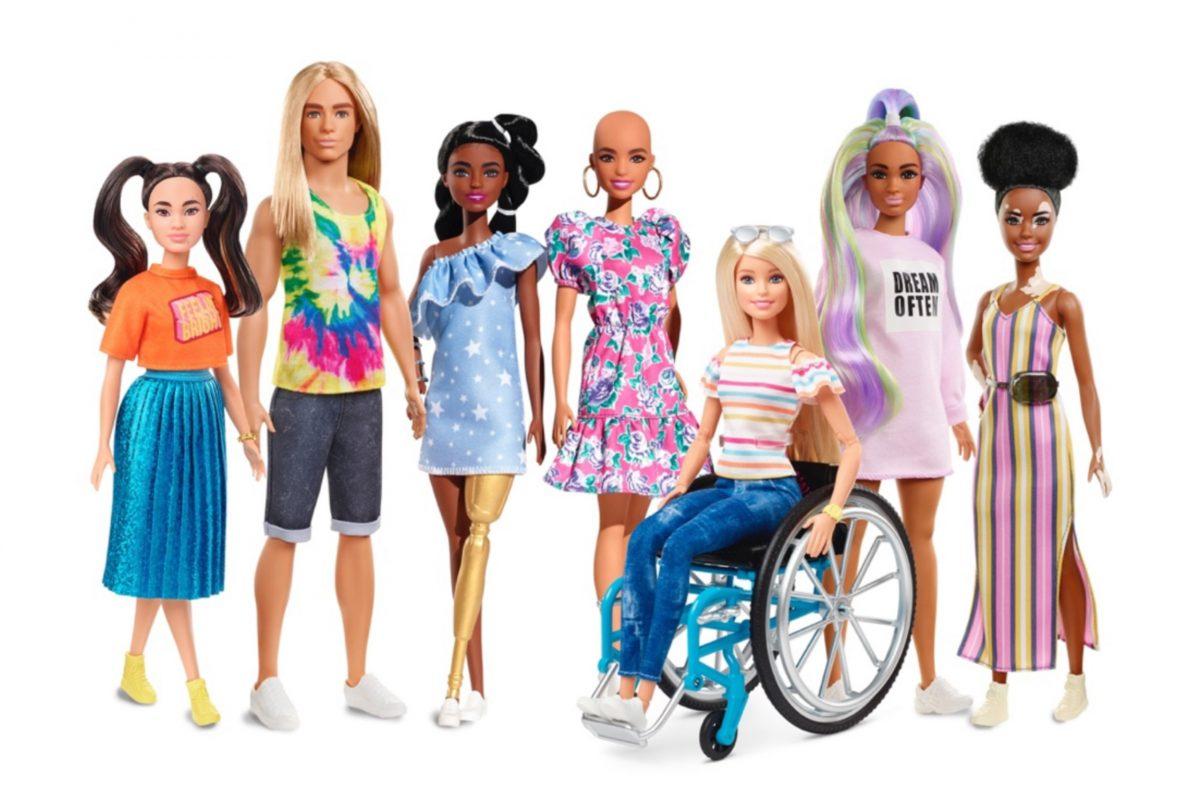 Mattel bringt Barbies mit Vitiligo und Haarausfall auf den Markt