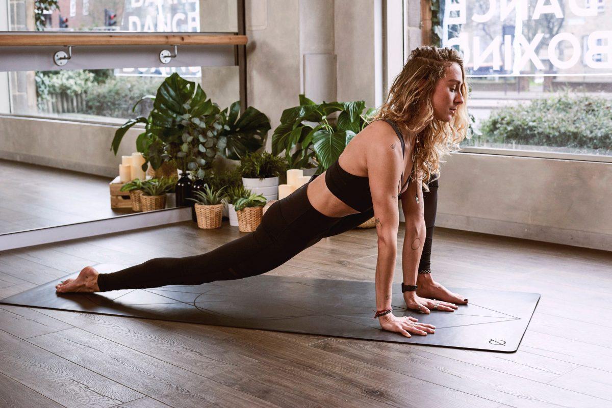 Es gibt jetzt eine Yoga-Matte, die sprechen kann