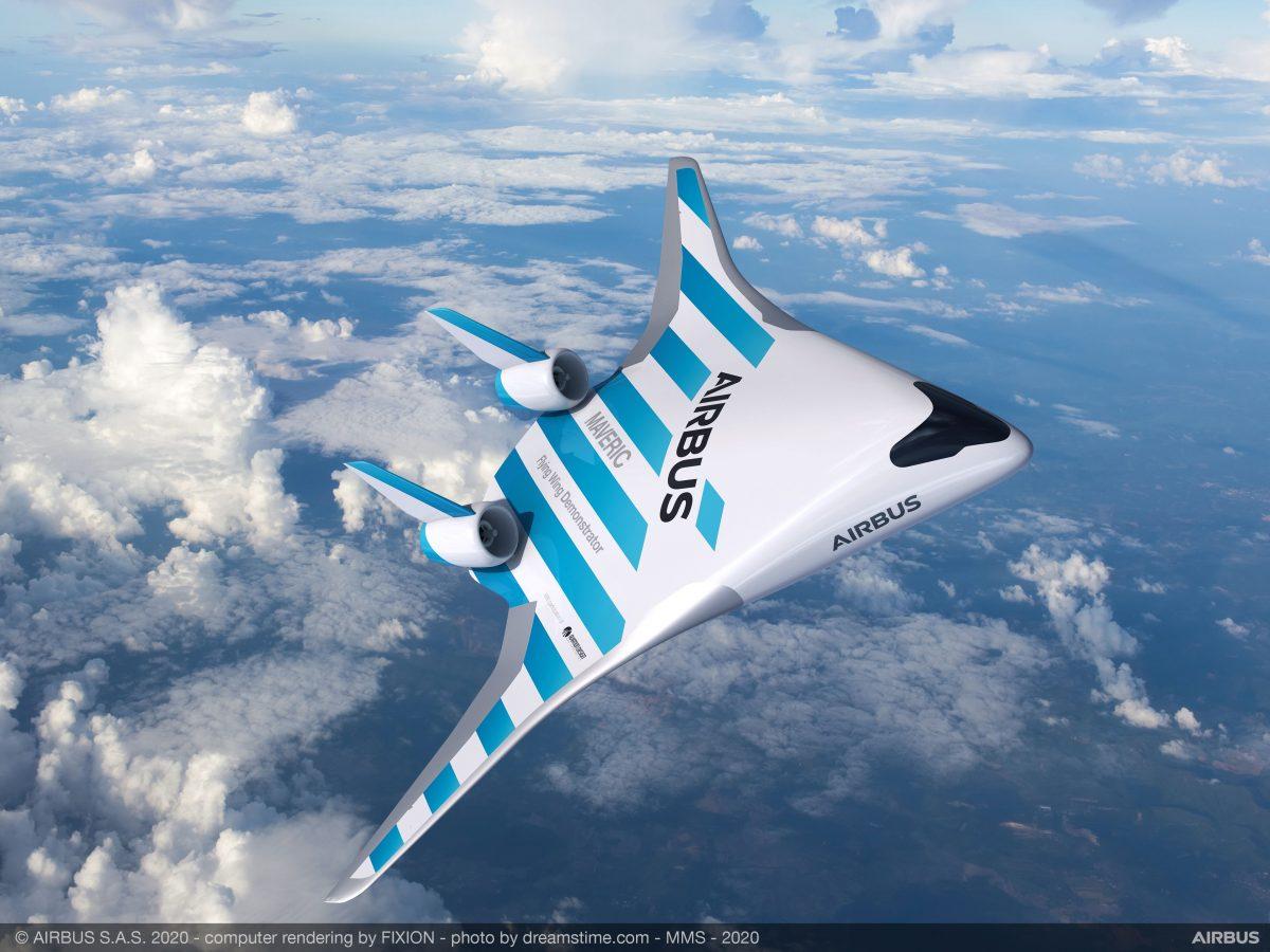 Airbus Maveric: In diesem neuen Flugzeug sitzen Passagiere in den Flügeln
