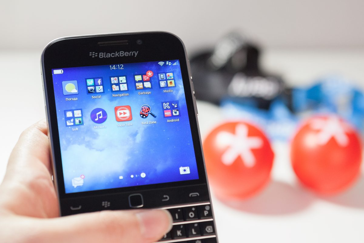 BlackBerry Smartphones gibt es bald nicht mehr