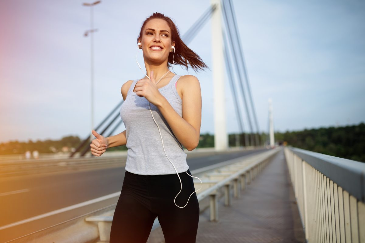 Die Laufstrecken dieser Frau sehen aus wie ein Penis