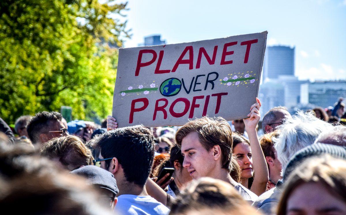 "Klimaschutz-Aktion ""Dicker Pullover"": Schüler demonstrieren in Belgien"
