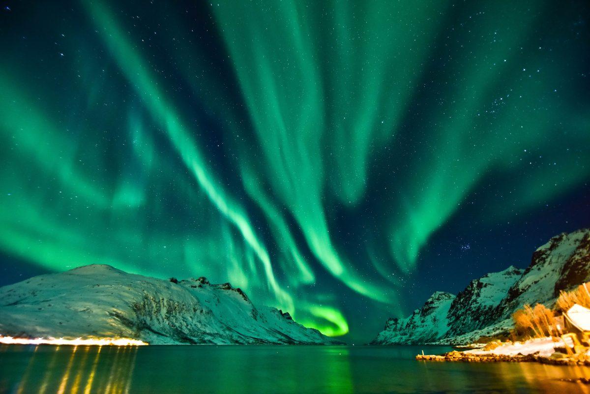 So sieht eine neu entdeckte Art von Polarlichtern aus