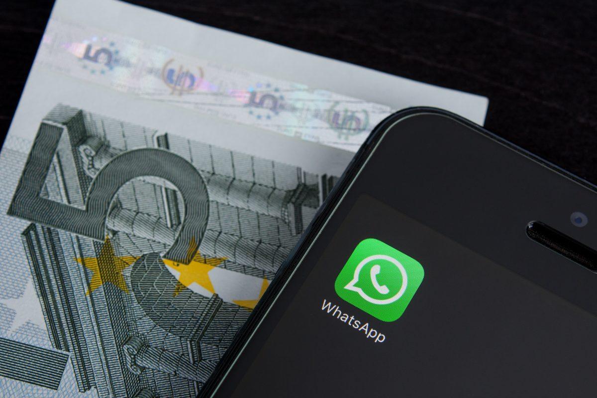 Mit WhatsApp kann man bald Geld überweisen