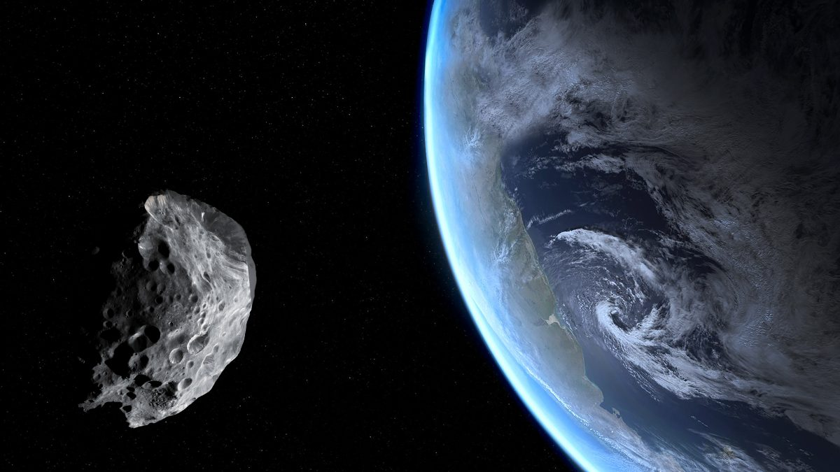 Riesiger Asteroid kommt der Erde im April gefährlich nahe