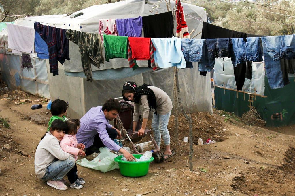 Coronavirus in Griechenland: Vorbereitung auf Krankheitsausbruch in Flüchtlingslagern