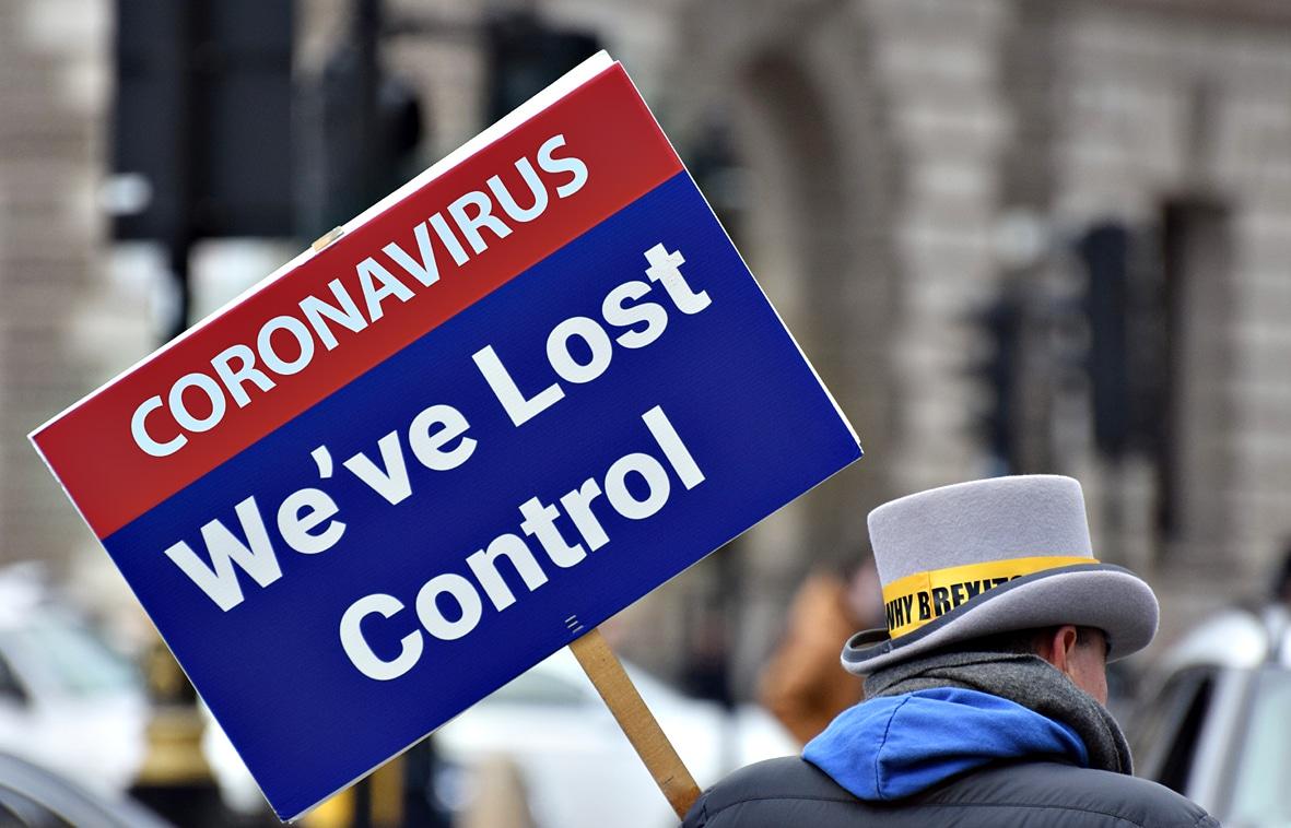 """London erlebt """"ständigen Tsunami"""" schwer erkrankter Coronavirus-Patienten"""