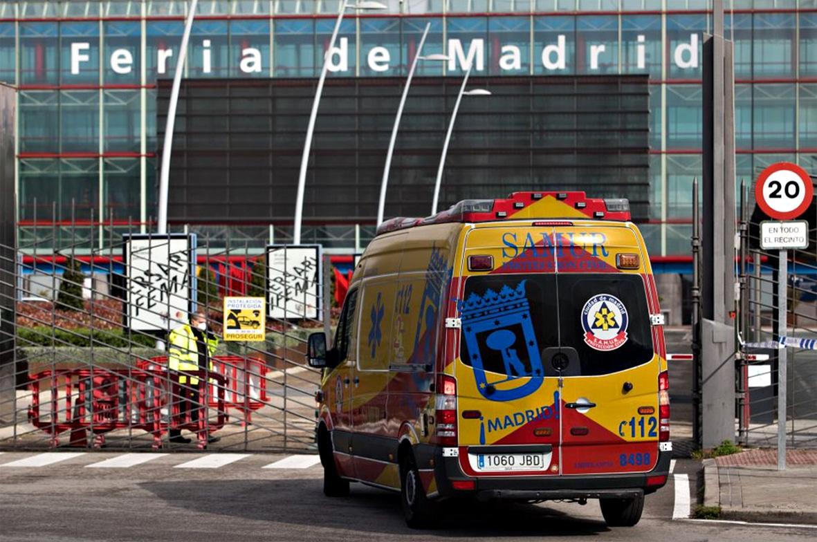Madrid: Alle sechs Minuten stirbt ein Mensch am Coronavirus