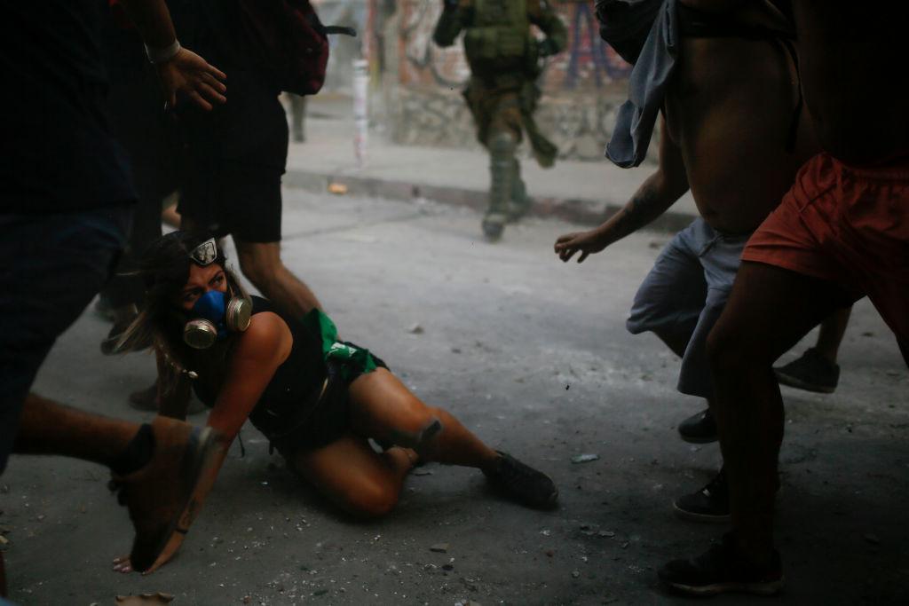 Internationaler Frauentag: Gewalttätige Ausschreitungen bei Demos