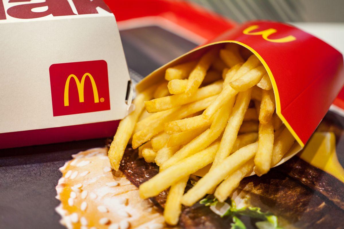 Bei McDonalds kannst du jetzt auch heiraten