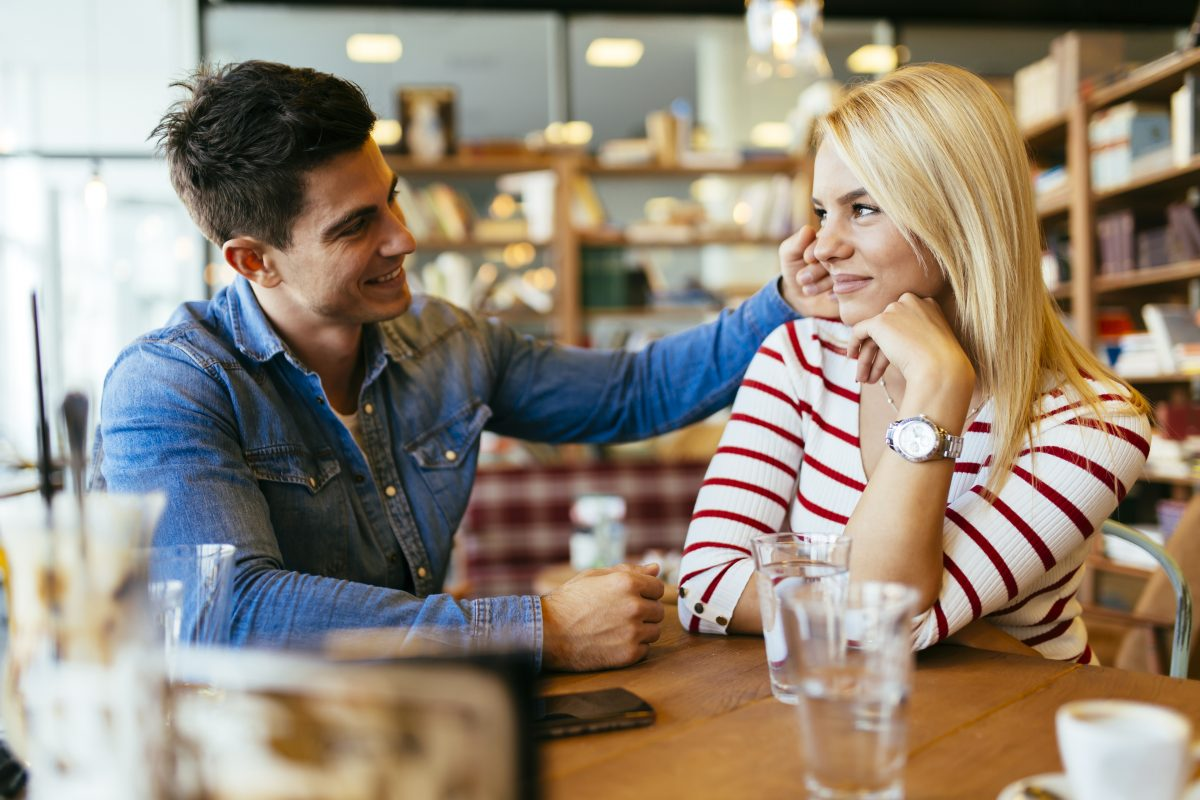 Flirten korpersprache spiegeln