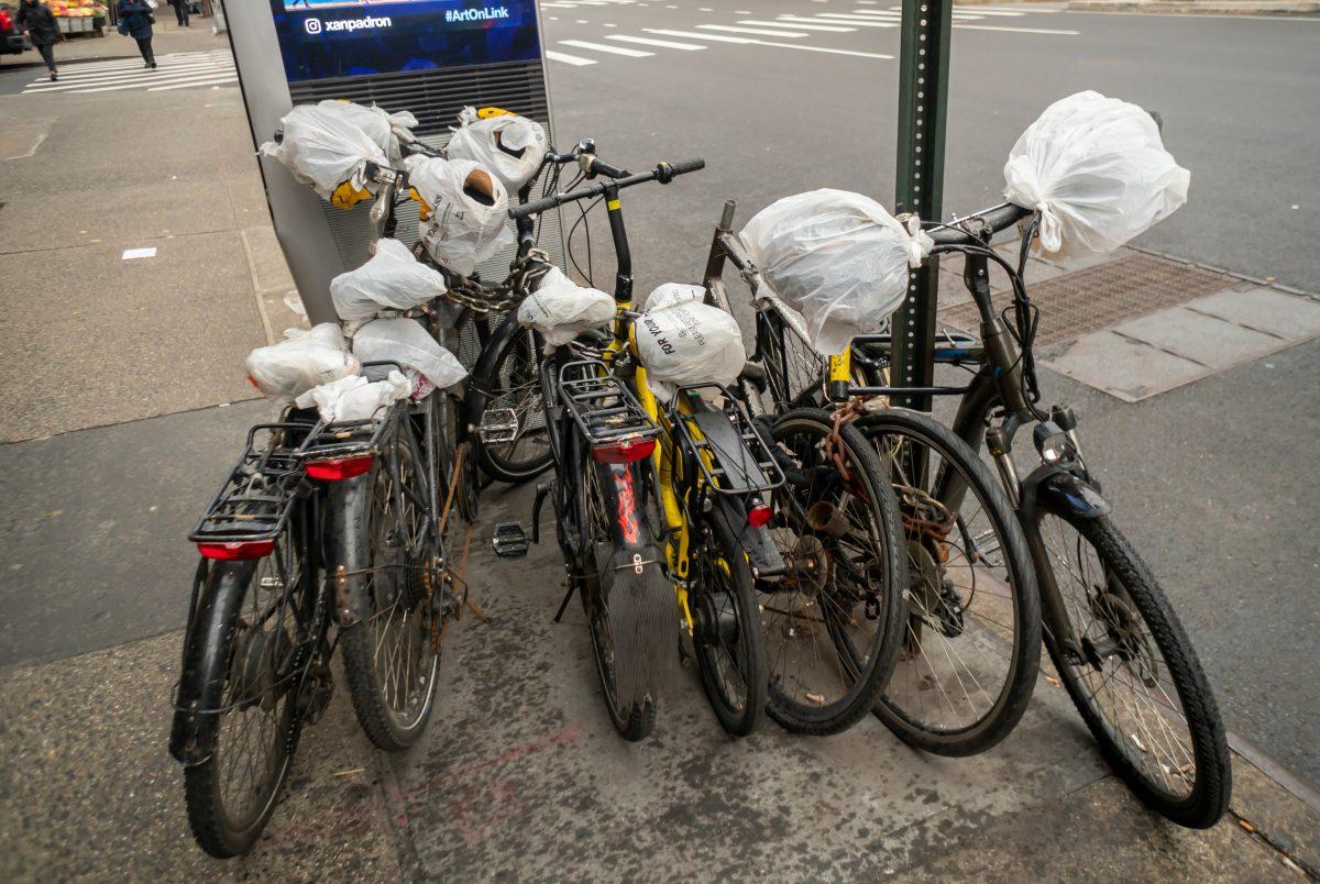 Plastiktüten sind jetzt in New York verboten