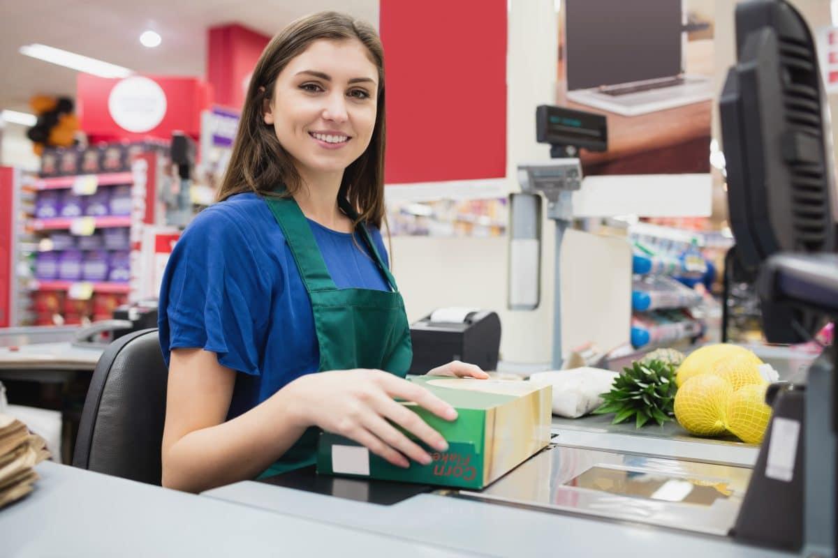 Supermarkt-Verkäufer in Frankreich bekommen Sonderzahlungen