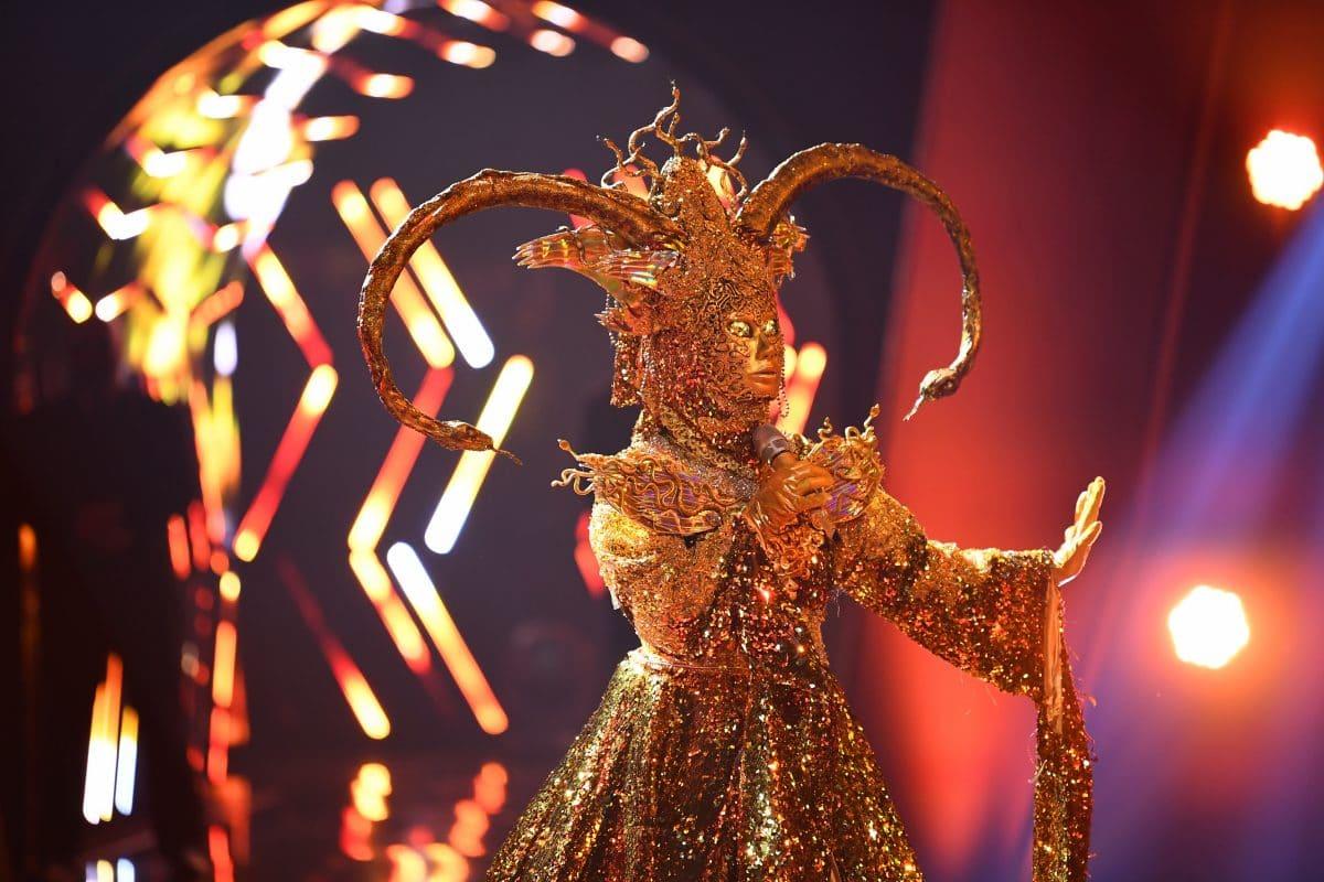 The Masked Singer 2020: Rebecca Immanuel ist die Göttin