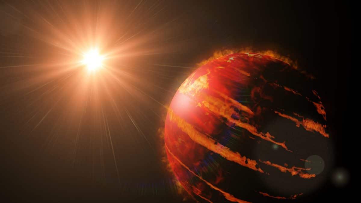 Es regnet Eisen auf heißem Jupiter