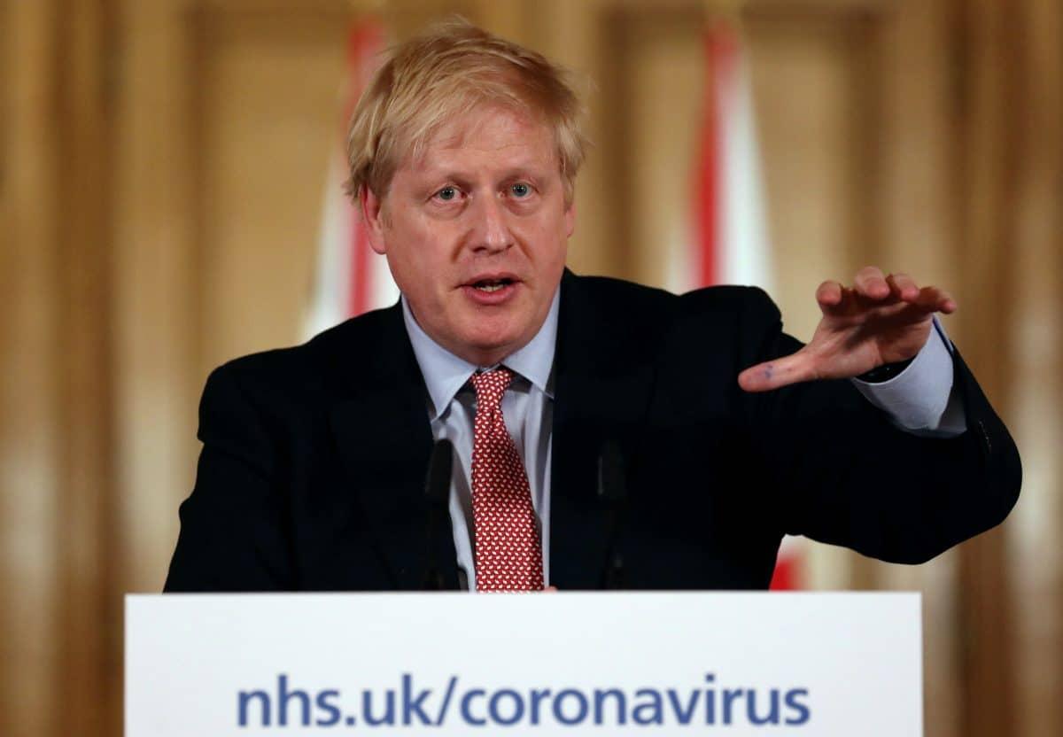 Boris Johnson möchte ab Montag wieder britische Regierung führen