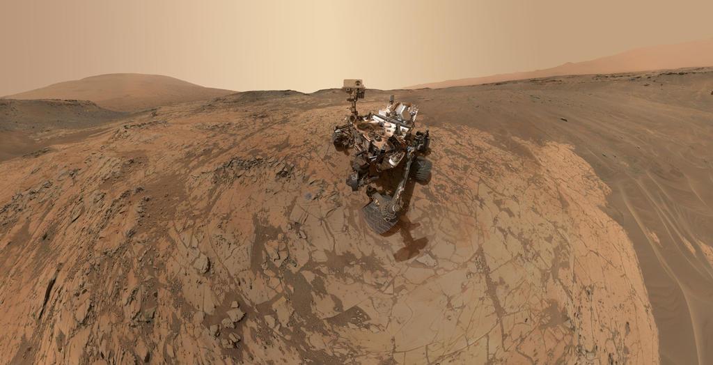 Der Mars-Rover wird aus dem Home Office gesteuert