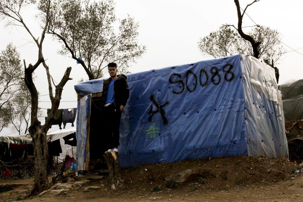 Brände in Flüchtlingslager auf Samos