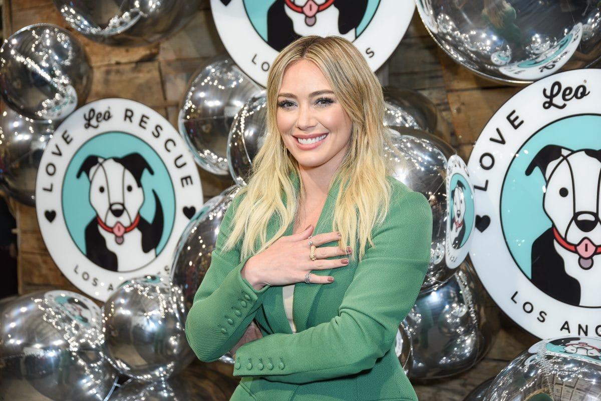 Hilary Duff überrascht mit neuer Frisur: Türkiser Bob