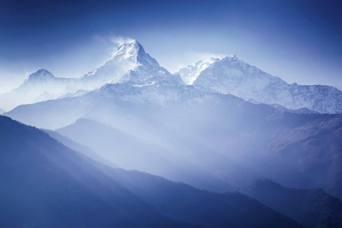 Wegen Corona-Shutdown: Himalaya erstmals seit 30 Jahren wieder sichtbar