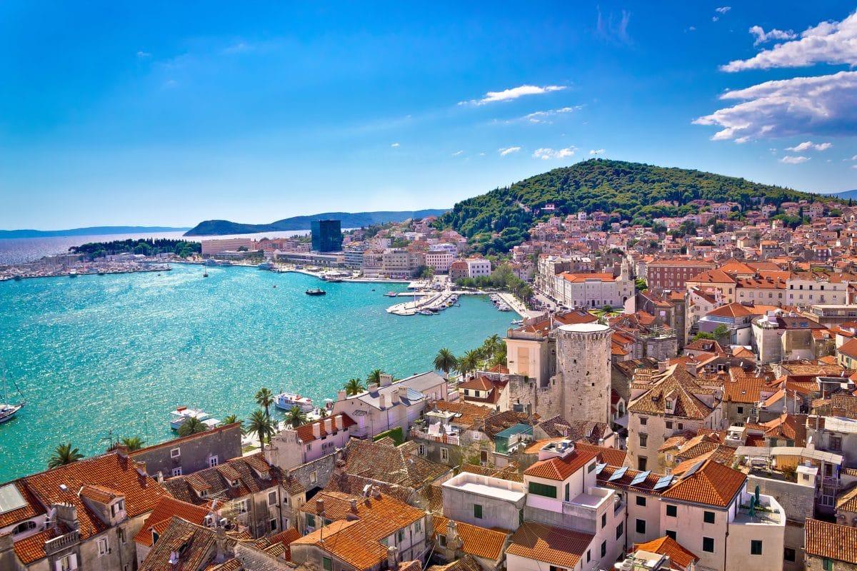Kroatien ist im Sommer für Urlauber bereit