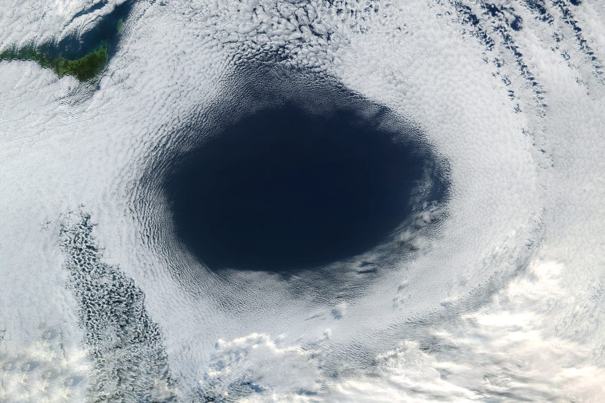Größtes Ozonloch über Arktis wieder verschwunden