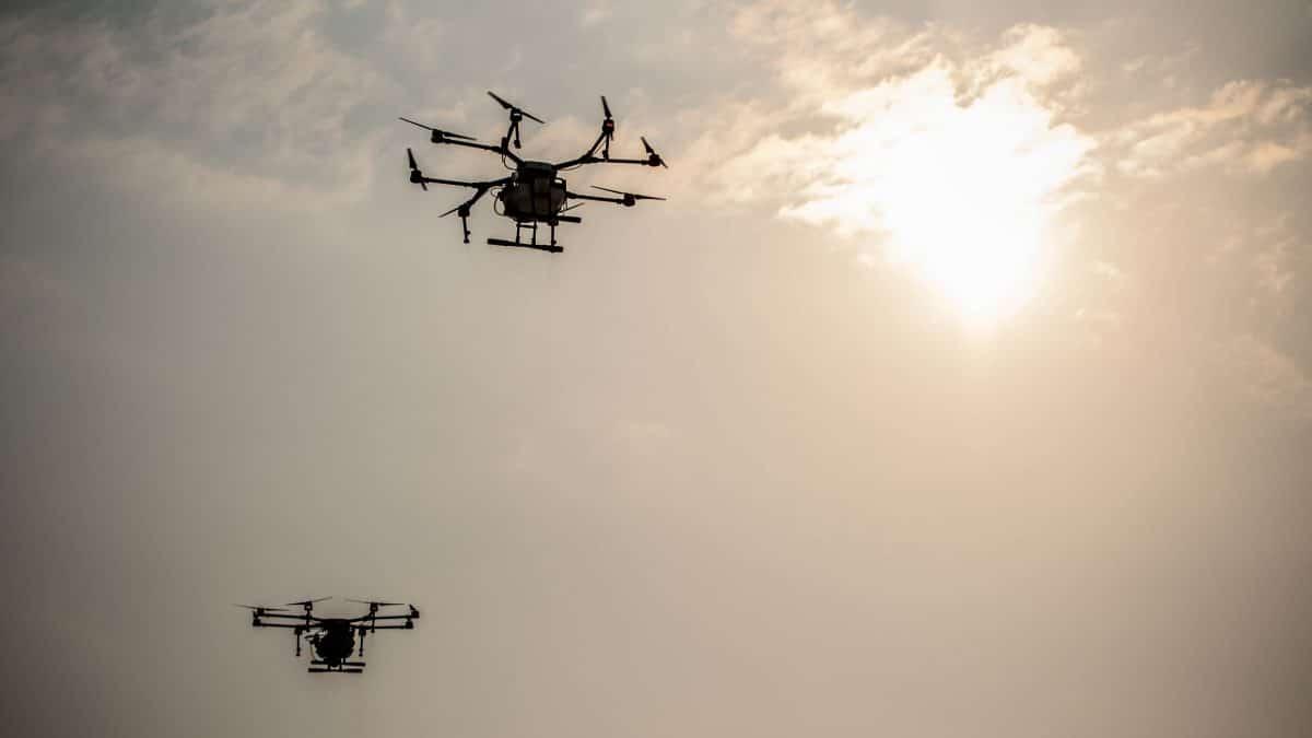 In den USA suchen Drohnen nach Coronavirus-Symptomen