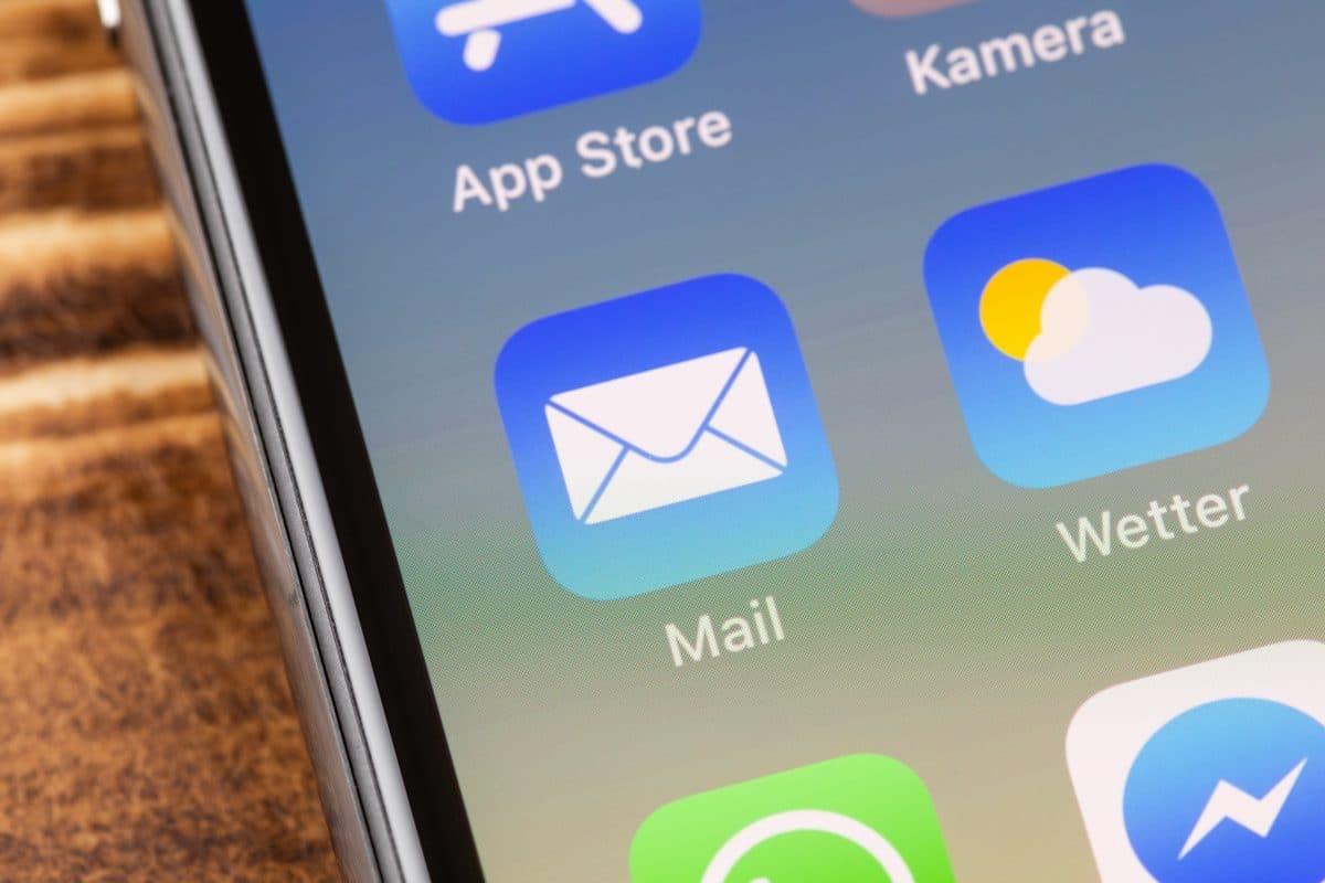 Sicherheitslücke bei der Mail-App am iPhone