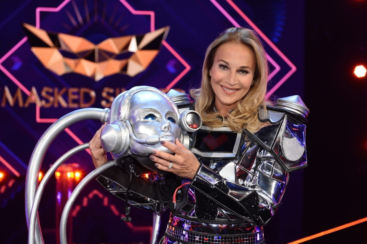 The Masked Singer: Caroline Beil ist der Roboter