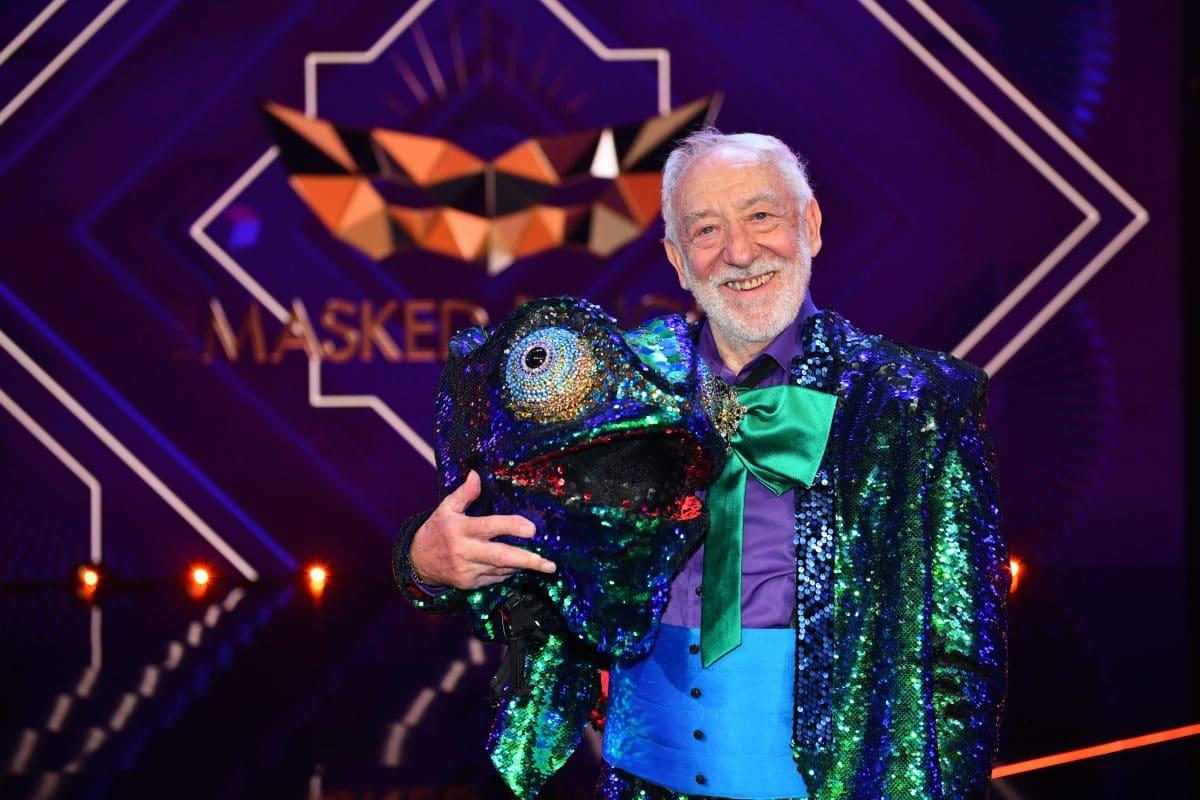 The Masked Singer: Didi Hallervorden ist das Chamäleon