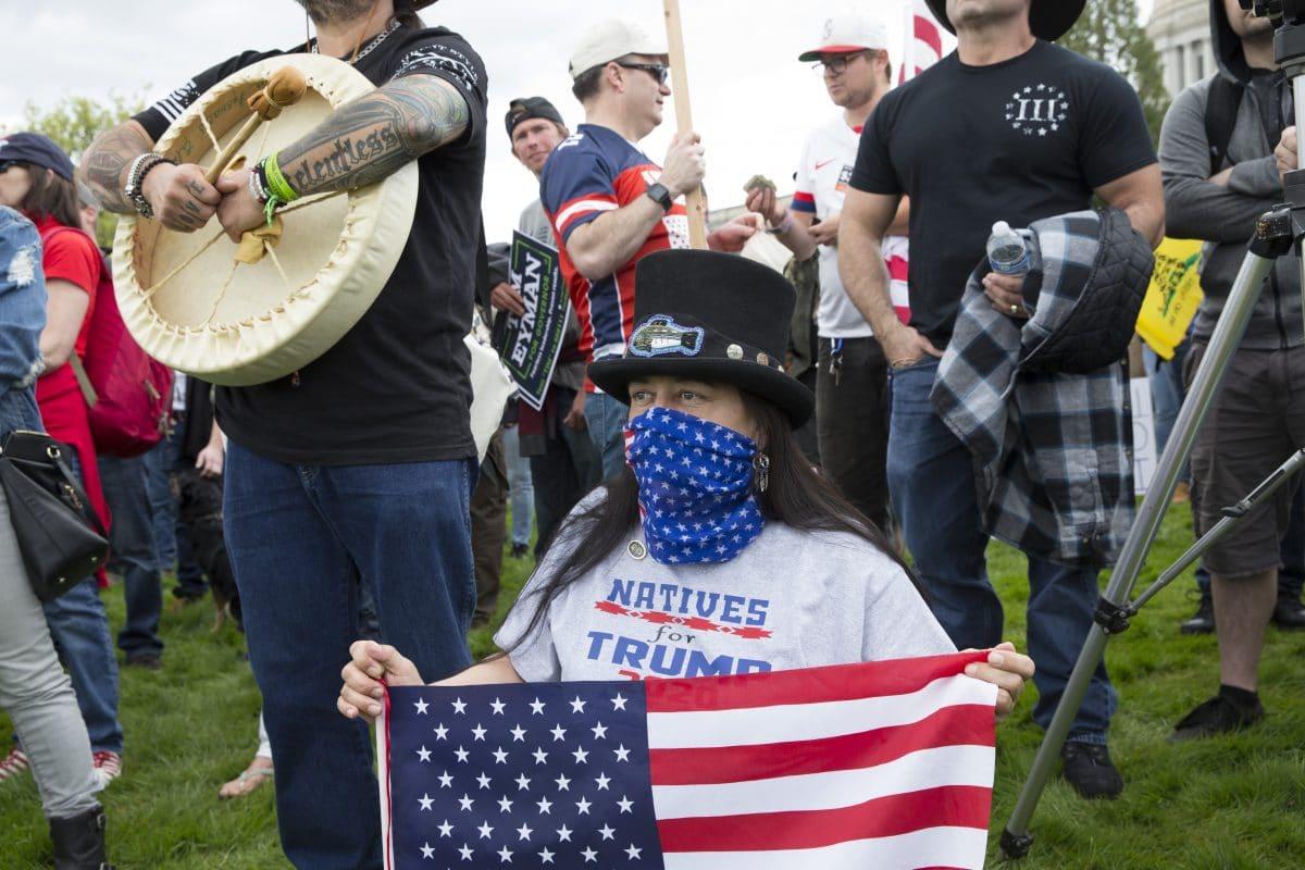 Washington: Demonstrationen gegen Ausgangsbeschränkungen