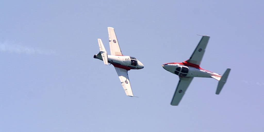 Pilotin der kanadischen Air Force stirbt bei Corona-Flugshow