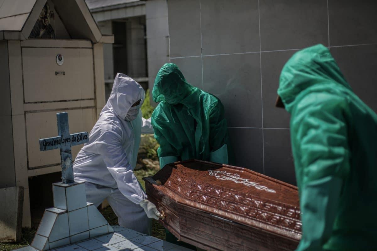 Brasilien: Fast 1000 neue Coronavirus-Todesopfer