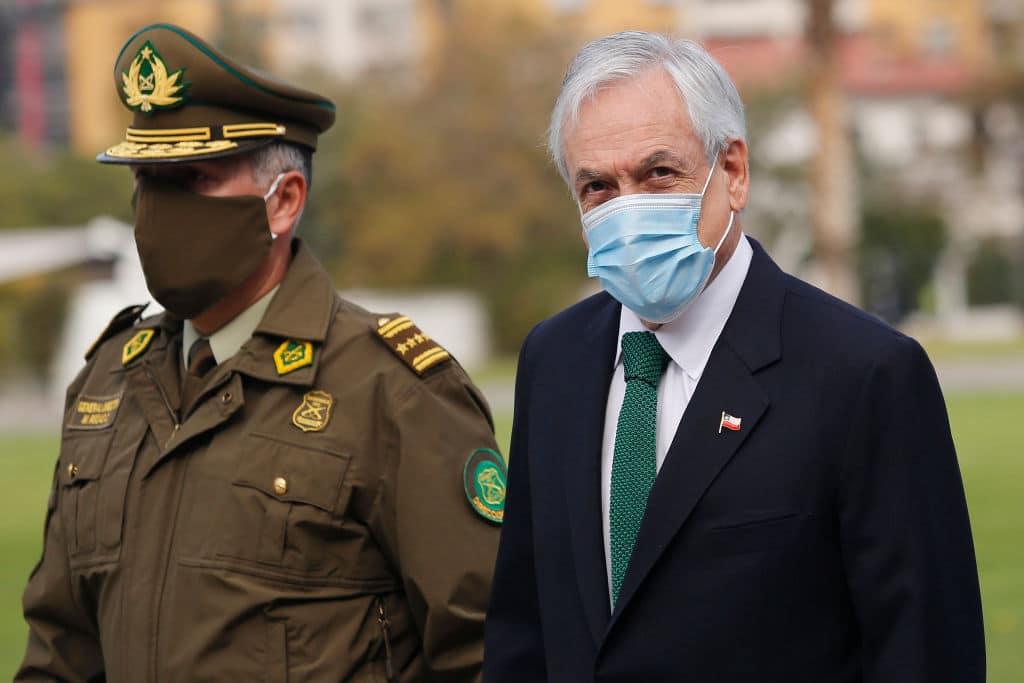 Das Gesundheitssystem von Chile laut Präsident fast am Limit