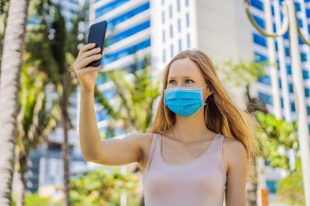 Forscher entwickeln Schutzmaske mit der Face-ID möglich ist