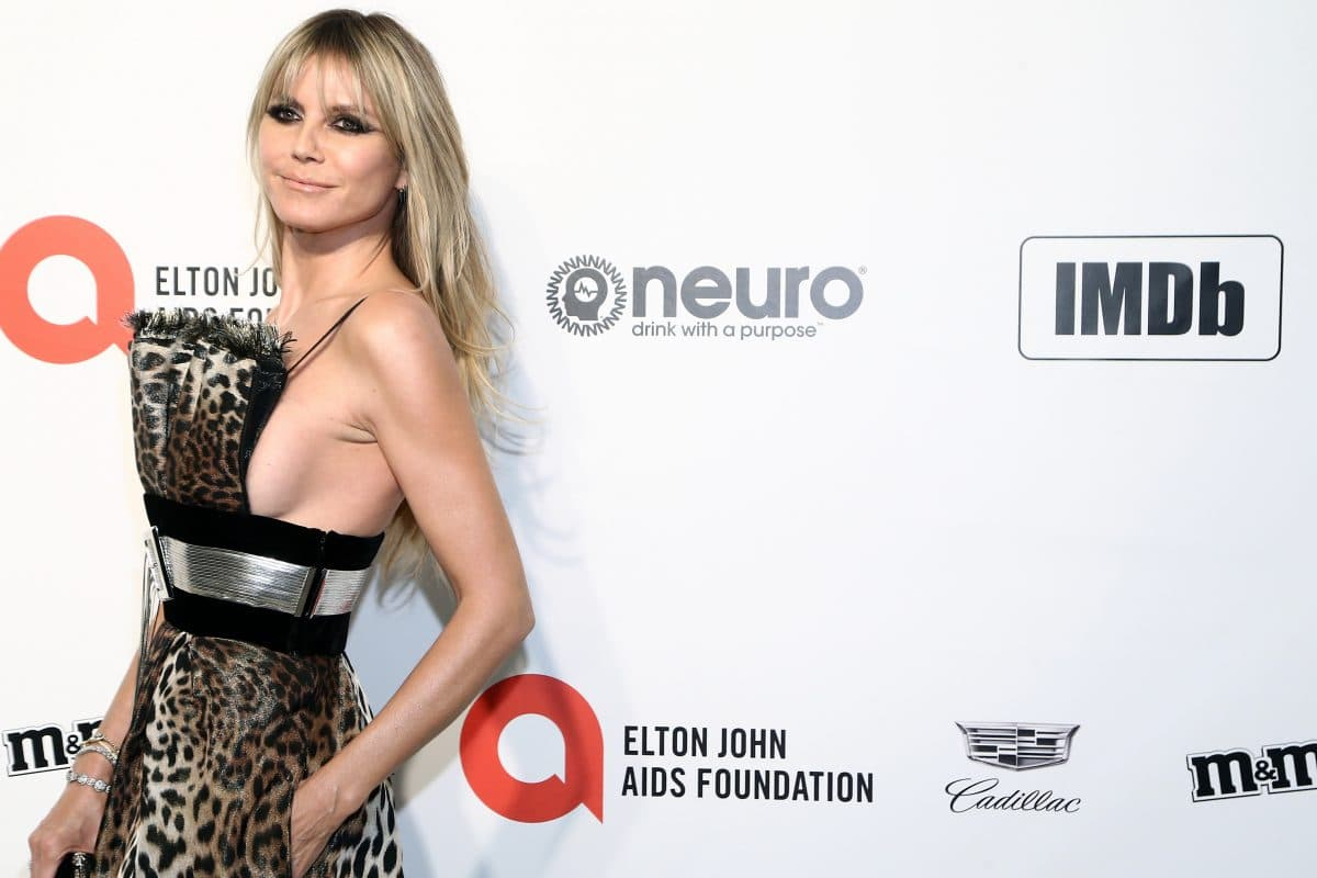 Heidi Klum veröffentlicht Nacktfotos auf Instagram