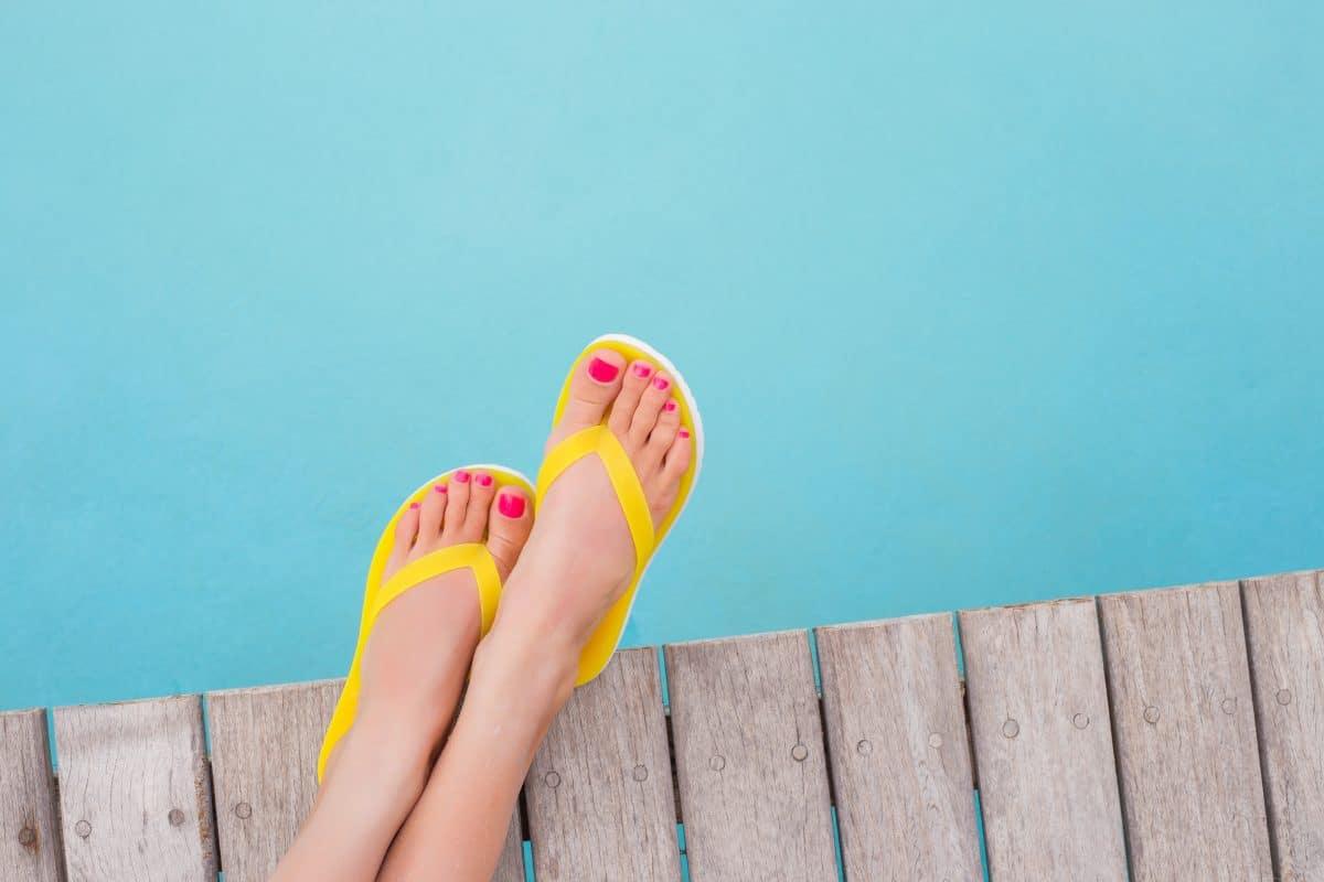 High Heel Flip Flops: Der Trend aus den Neunzigern ist zurück