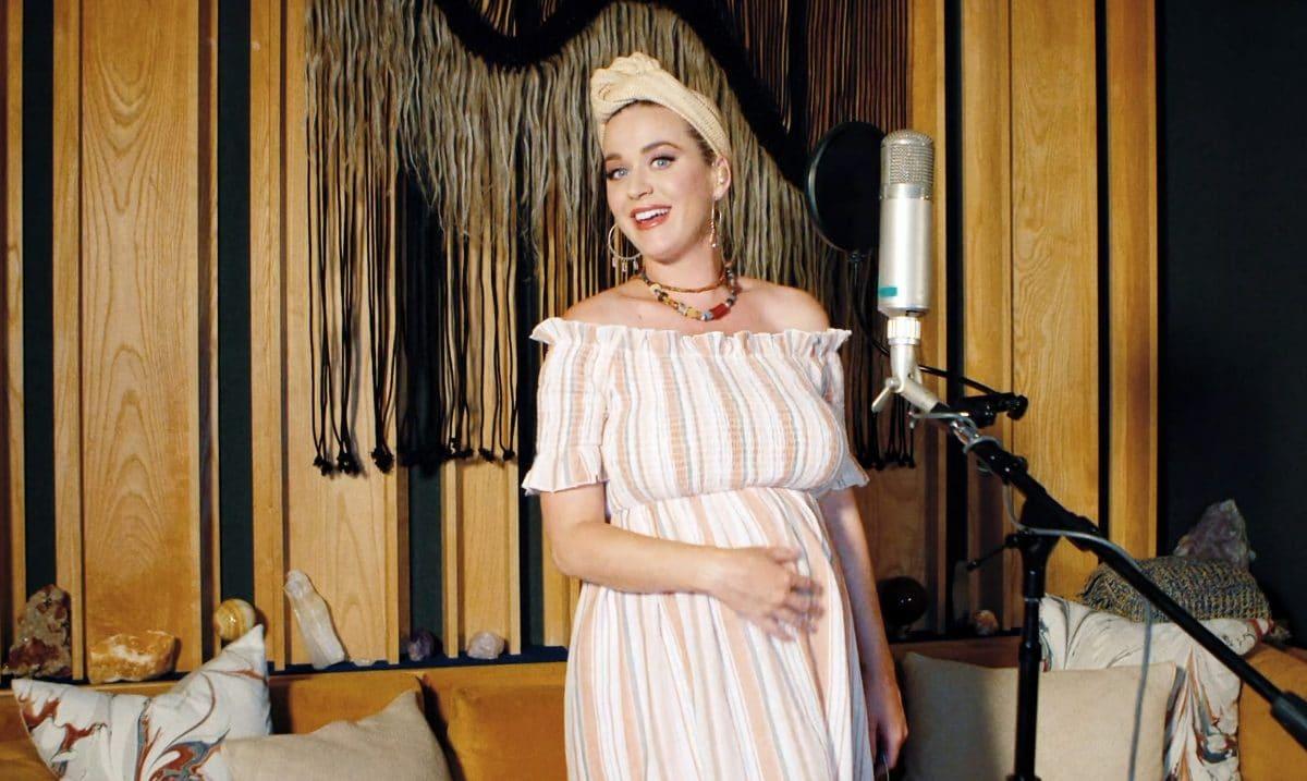 Katy Perry: Baby zeigt Mittelfinger auf Ultraschallbild