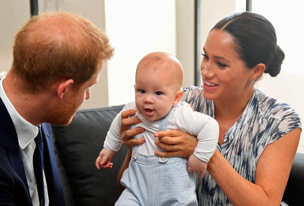 Meghan Markle und Baby Archie entzücken mit süßem Video