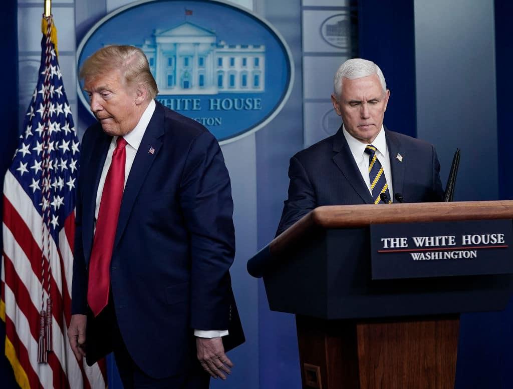 US-Vizepräsident Mike Pence will Kontakt mit Donald Trump meiden