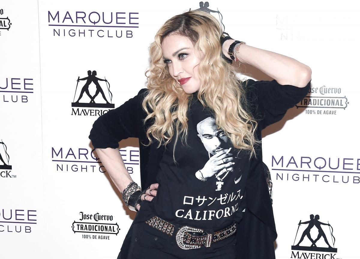 """Madonna bezeichnet Donald Trump als """"Nazi"""" und """"Soziopath"""""""