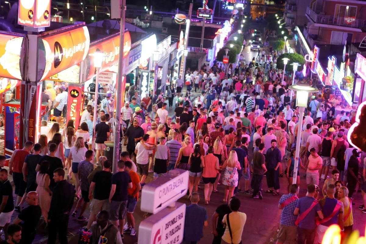 Mallorca will Start der Partymeile möglichst lange  hinauszögern