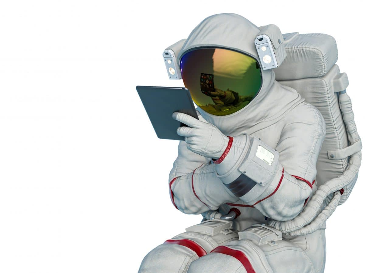 NASA sucht nach perfektem Mond-Klo