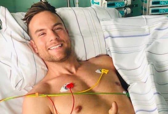 Sebastian Preuss meldet sich nach Motorrad-Unfall aus Krankenhaus