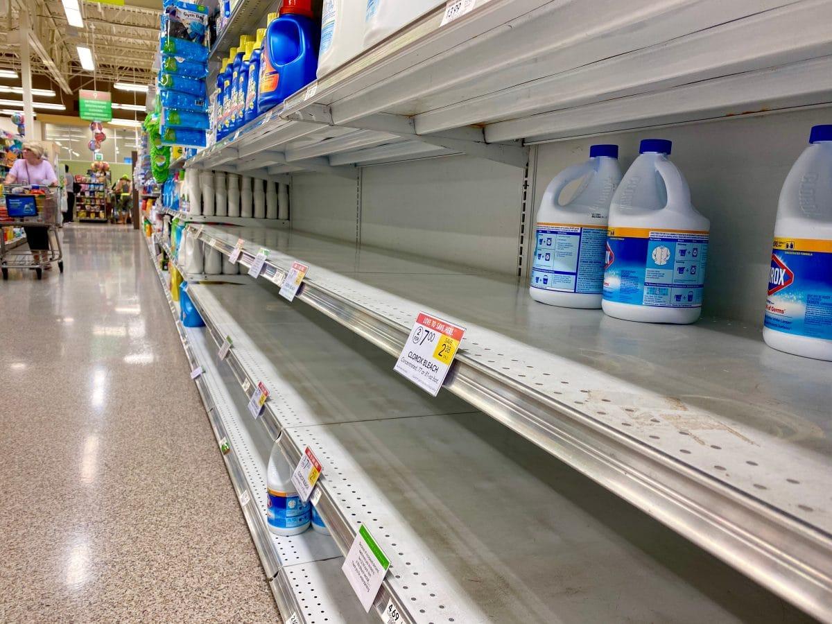 US-Behörde warnt vor Lebensmittelreinigung mit Bleichmittel