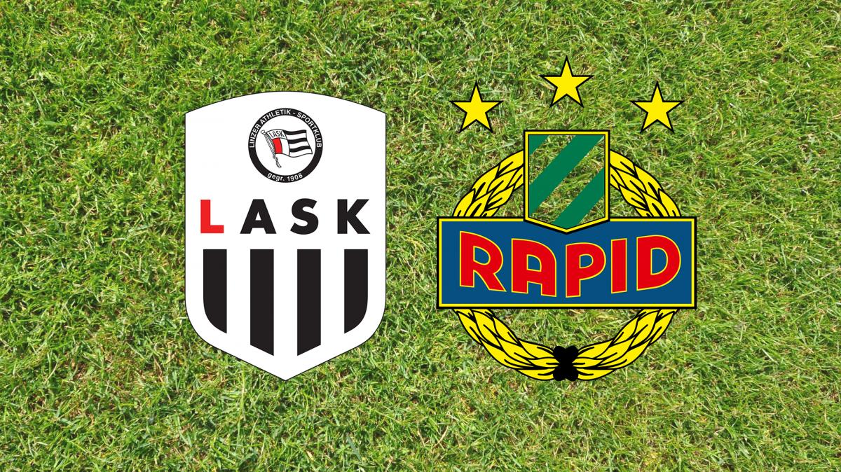 LASK – Rapid Wien: Alle Infos zu Livestream & live TV-Übertragung