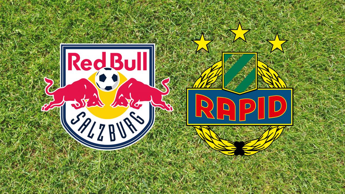 Red Bull Salzburg – Rapid Wien: Livestream und live TV-Übertragung
